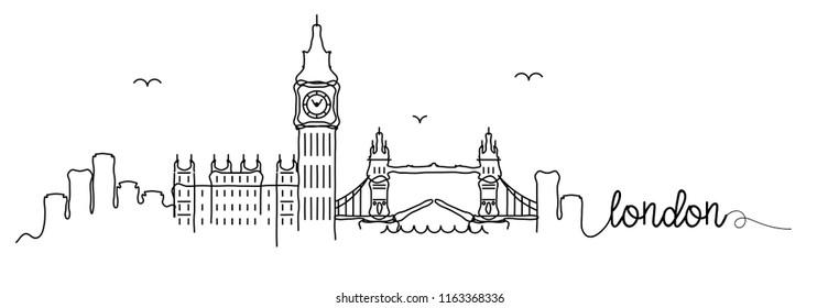London Skyline Signature Design