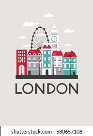 London travel card. Vector