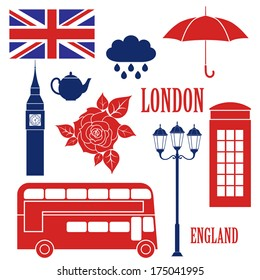 London. Vector illustration