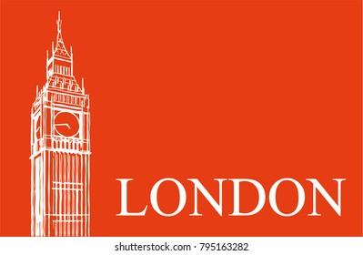 London vector illustration