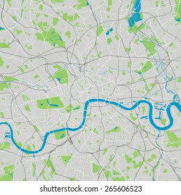 London vector map ultra detailed