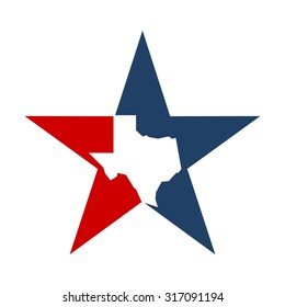lone star texas logo template.