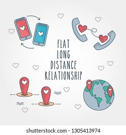 Long Distance Relationship Images, Stock Photos & Vectors