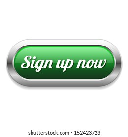Long green sign up now button