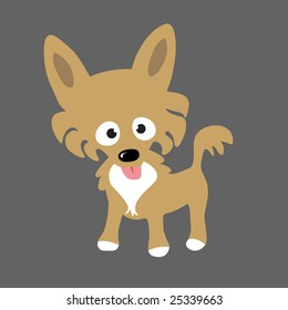 Long Hair Chihuahua Vector (more dogs in portfolio)