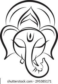 Ganesha Sketches Images Stock Photos Vectors Shutterstock