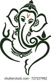 Lord Ganesha illustration