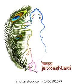 Lord krishna birthday Hindi meaning of Shri Krishna Janmashtami. Happy Janmashtami.