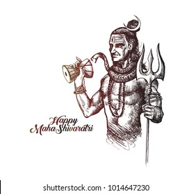Shiva Drawing Images, Stock Photos & Vectors | Shutterstock