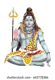 Lord Shiva, triangulation, vector