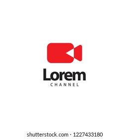 Lorem Chanel Logo Vector Template Design Illustration