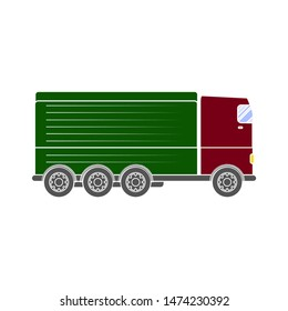 lorry icon. flat illustration of lorry vector icon. lorry sign symbol