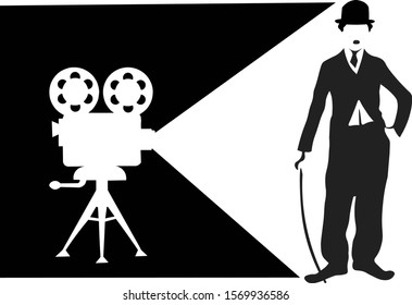 Los Angeles, California, USA, 1933, Charlie Chaplin