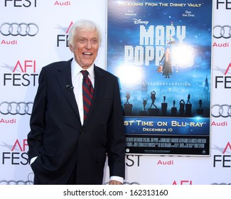 """LOS ANGELES - NOV 9:  Dick Van Dyke at the AFI FEST """"Mary Poppins"""" 50th Anniversary Commemoration Screening at TCL Chinese Theater on November 9, 2013 in Los Angeles, CA0"""