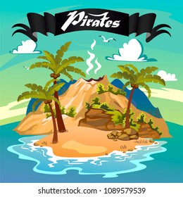 Lost Island, Pirate Island, Pirate Mountain