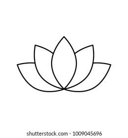 lotos line icon
