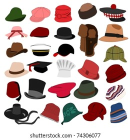 Lots of Hats Set 04