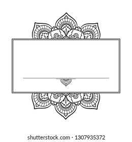 Lotus ayurveda  zen symbol of harmony and balance. Tattoo flesh design, yoga logo. Boho print, poster, t-shirt textile. Anti stress book. Isolated vector illustration on white background.