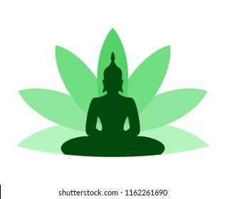 lotus flower budha symbol