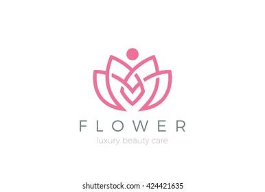 Logo Flores Stock Illustrations Images Vectors Shutterstock