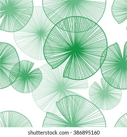 lotus leaves pattern with beautiful green for your design