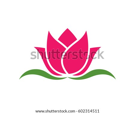 lotus logo template stock vector royalty free 602314511 shutterstock