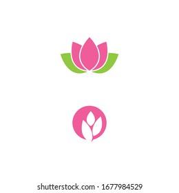 Lotus Logo Template vector symbol nature