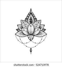 Lotus ornament