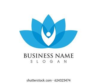 Lotus people logo
