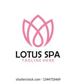 lotus spa logo icon