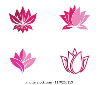 Lotus symbol illustration