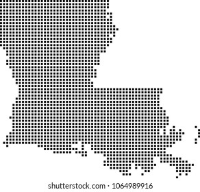 Louisiana Outline Images Stock Photos Vectors Shutterstock