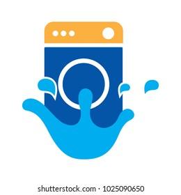 loundry wash logo