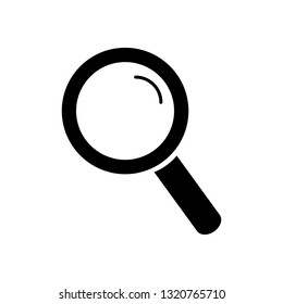 loupe,lupe,search,zoom tool,black simple icon on white