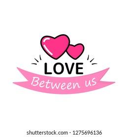 love between us. Background. Wallpaper