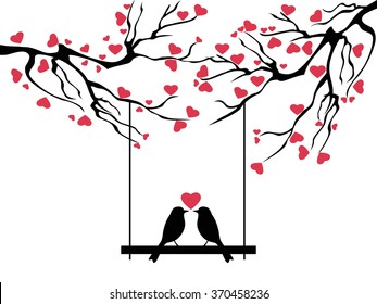 love bird tree