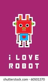 i love cow robot