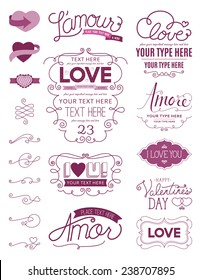 Love Design Elements