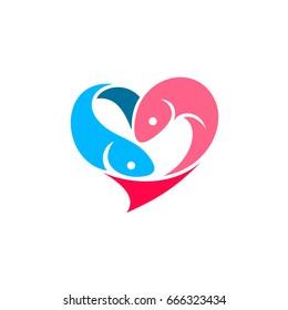 Love Fish Logo