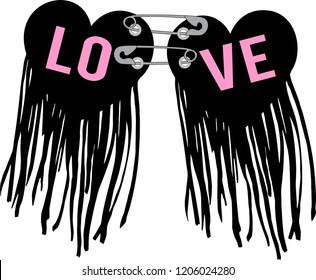 love ,for t-shirt,slogan