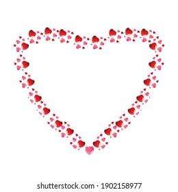 Love frames valentine circle leaf frames, heat baroque, frame love vintage isolated, valentine day offers, photo frame flowers, heart frame