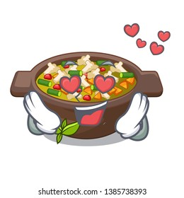 In love fried minestrone in the cup character