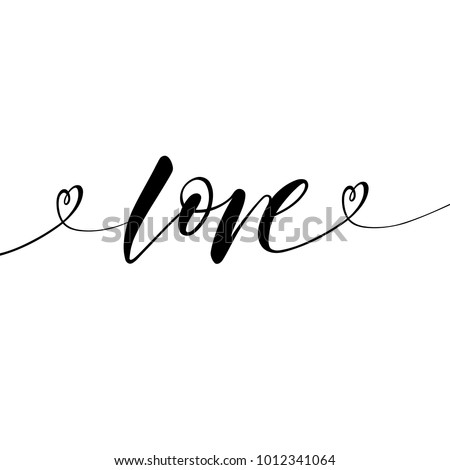 Love greeting card template word love stock vector royalty free greeting card template with the word love in black and white colors valentines m4hsunfo