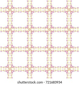 Love grid multi the word love reflected into an overall pattern