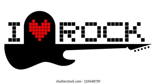 I love guitar