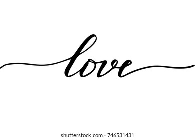 Cursive Love Images Stock Photos Vectors Shutterstock Once you reach the dashed line. https www shutterstock com image vector love handwritten text vector script 746531431