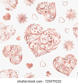 love heart seamless pattern rose 260nw 725979232