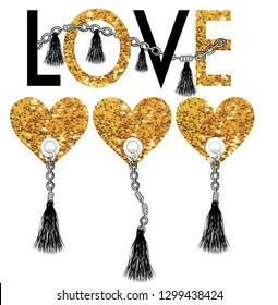 love heart vektor,for t-shirt slogan