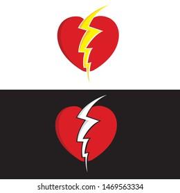 image shutterstock com/image-vector/love-heartbrea