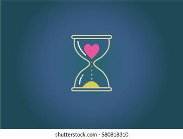 Love hourglasses